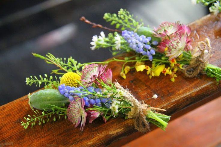 Wild Flower Boutonnieres