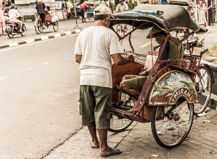 Becak Drivers by Zack V. Apiratitham on 500px