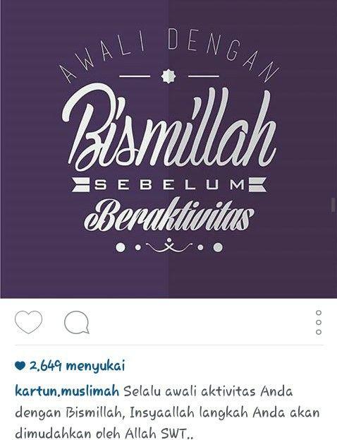 Bismillah !