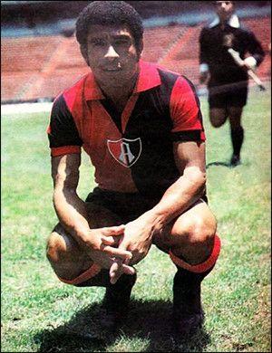 Héctor Eduardo Chumpitaz Gonzáles en el Atlas de mexico (1975-1976)