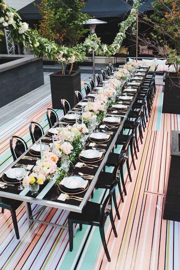 Couture Cuisine for Melissa Andre Events in Chloe Magazine
