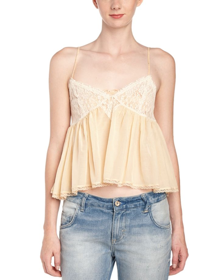Spotted this Free People Sweet Lace Cami on Rue La La. Shop (quickly!).