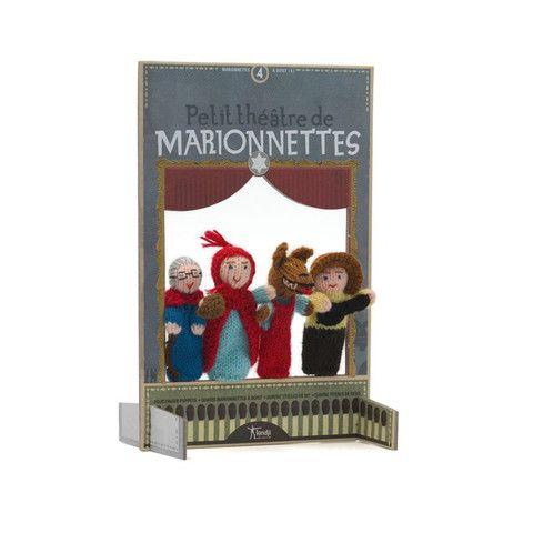Marionette Cappuccetto Rosso