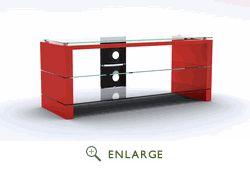 Red & Black 42 inch TV Stand - RTA PMJ-3120