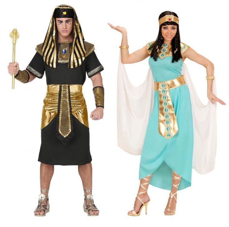 Ägyptische Könige - Paarlook zum Motto Altes Ägypten