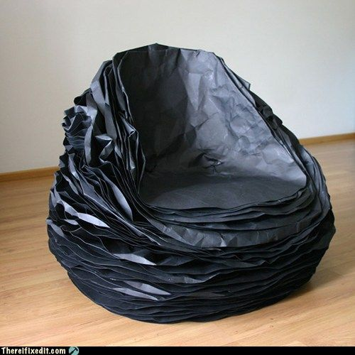 One Man's Trash is Another Man's Office Chair