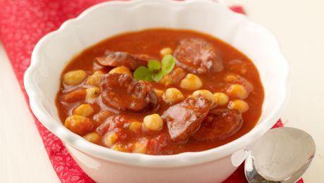 Chorizo & Chickpea Soup