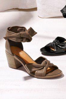 Next Leather Soft Wrap Sandals