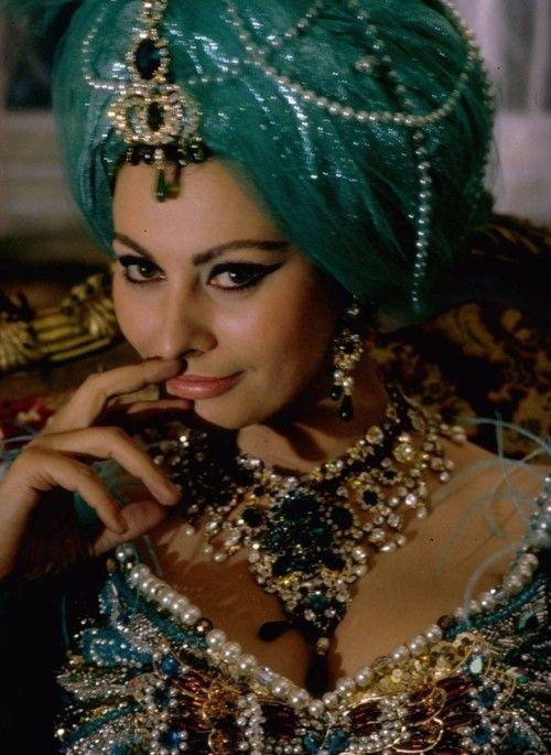 Sophia Loren as Bohemian Queen