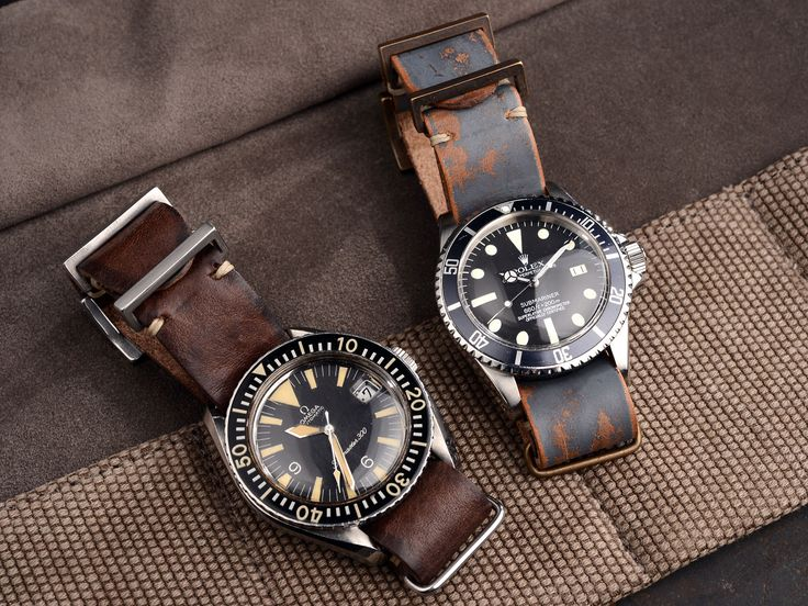 B&S Signature leather nato strap 20 mm