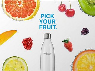SodaStream Giveaway For Canada. Let's Be Fizz with Benefits Contest.  Enter for a chance to WIN 1 of 7 SodaStream Prize Packs.  Prize includes:  one (1) pack of three (3) carbonation bottles, one (1) licensed spare/extra carbonator, and five (5) sparkling flavour drink mixes. Value $107.92.