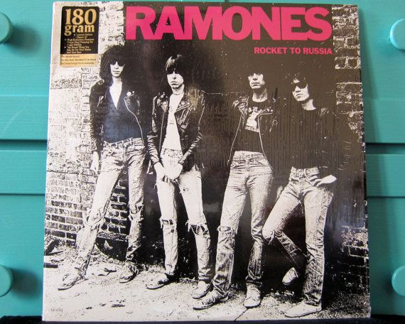 Ramones  Rocket to Russia by RougarouRecords on Etsy