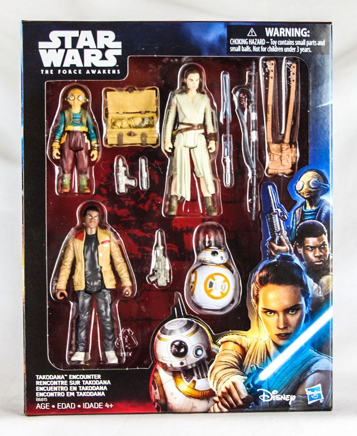 Star Wars Takodana Encounter 4-pack Hasbro Action Figures Home Entertainment #Hasbro