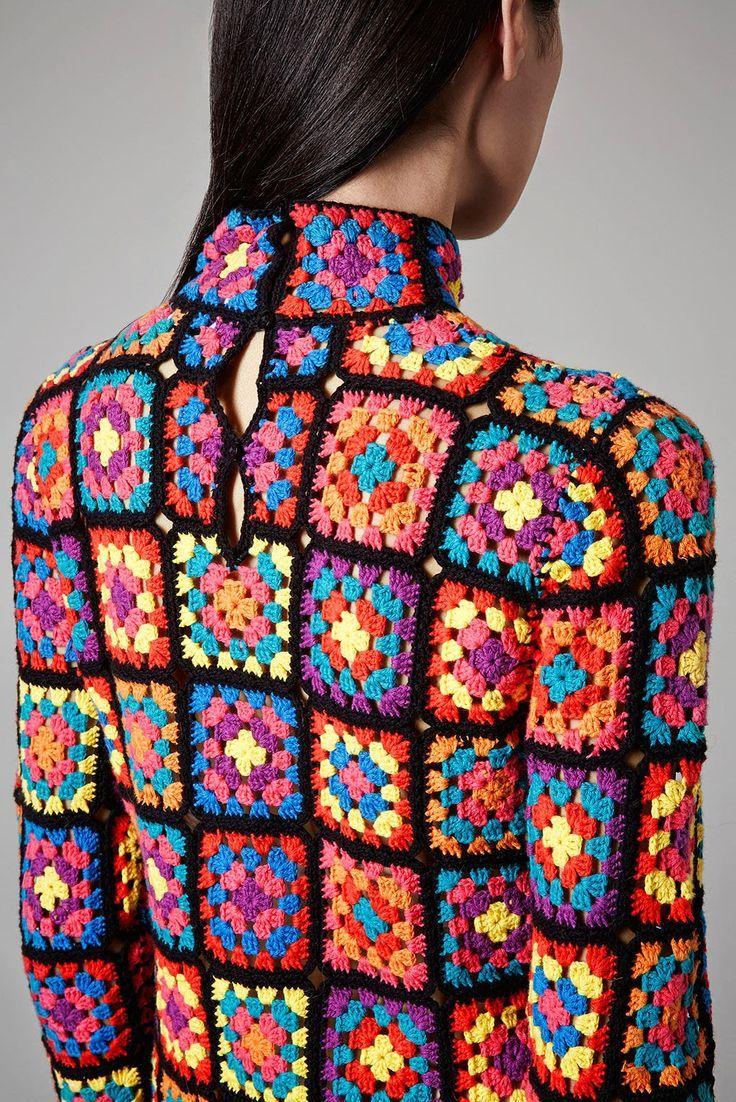 Quadrados de crochet na moda: Grannys Attic, Rosetta Getty e Gigi Hadid - Cris Cardoso - Blog de Moda e Feminices