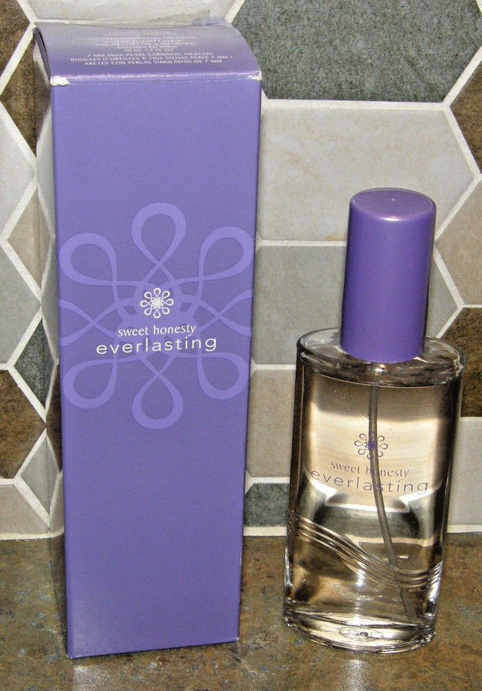 NEW Vintage in Box AVON Sweet Honesty Everlasting Perfume