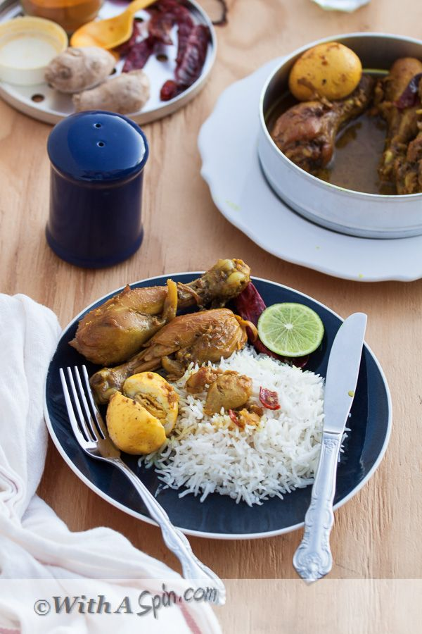 Goalondo Chicken Curry | Copyright © With A Spin