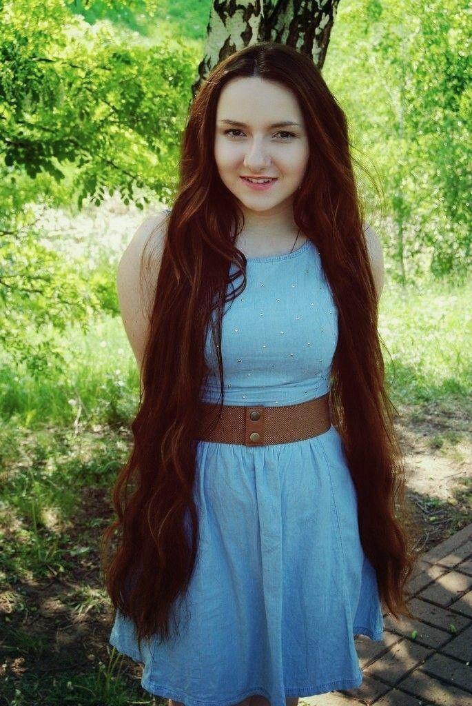hip length hair ideas