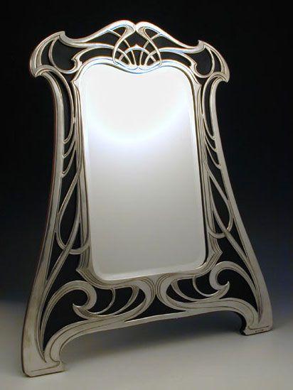 Best 25 art nouveau furniture ideas on pinterest art for Miroir art nouveau