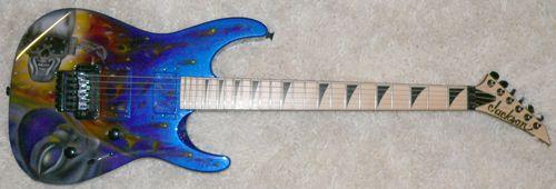 Jackson DK2 Guitar With Custom Megadeth Graphic