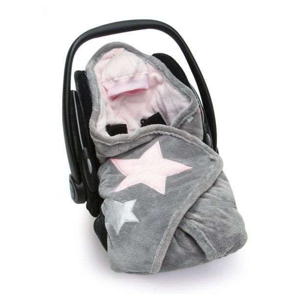 babyboum einschlagdecke softy stary cristal rosa f r babyschalen wie maxi cosi bonuspunkte. Black Bedroom Furniture Sets. Home Design Ideas