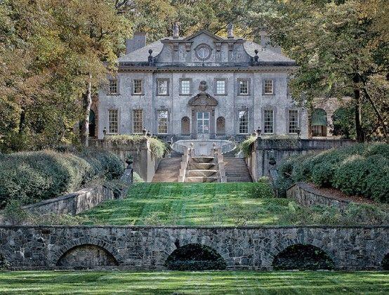 The Swan House, located in Atlanta, Georgia. Beautiful!