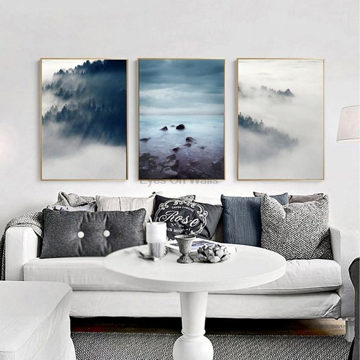 3 Piece No Frame Landscape Poster Scandinavian Canvas Painting For Living Room Wall Picture  Print N - ICON2 Luxury Designer Fixures #3 #Piece #No #Frame #Landscape #Poster #Scandinavian #Canvas #Painting #For #Living #Room #Wall #Picture # #Print #N
