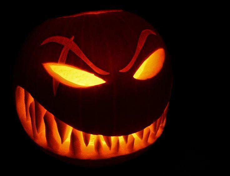 really scary pumpkin carving ideas | Pumpkin Design by Rippah2