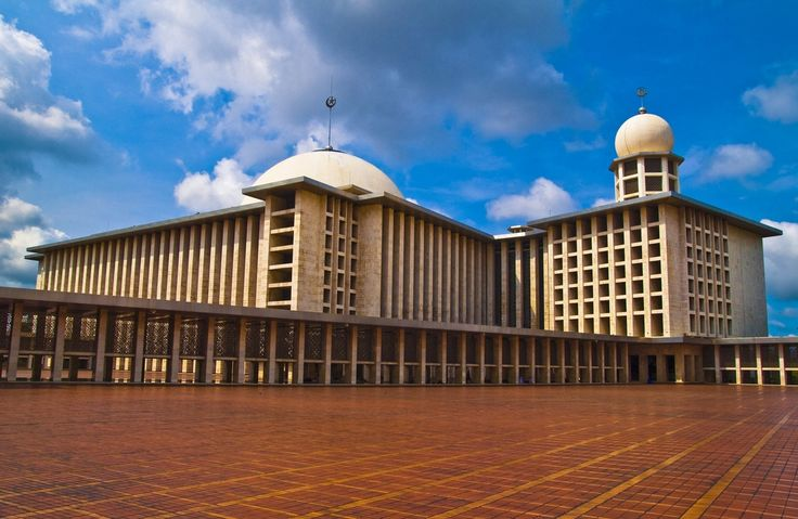 Istiqlal Mosque in Jakarta - Indonesia