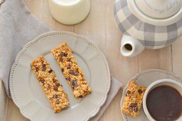 Cereal bars for breakfast - Barritas de cereales para el desayuno