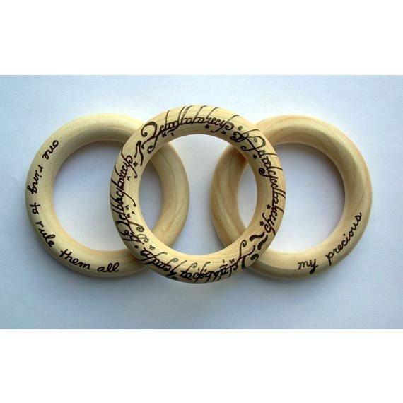 Lord of the Rings Baby Teether Set of 3 LOTR Teething Ring