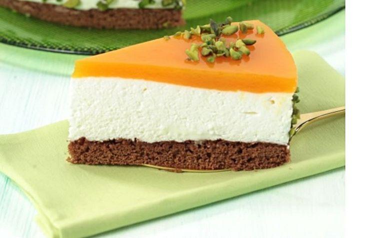 Semifrio de manga e laranja - http://www.sobremesasdeportugal.pt/semifrio-de-manga-e-laranja/
