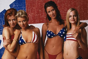 The Definitive Collection Of Famous Women In Patriotic Bikinis And Clothes Yes.