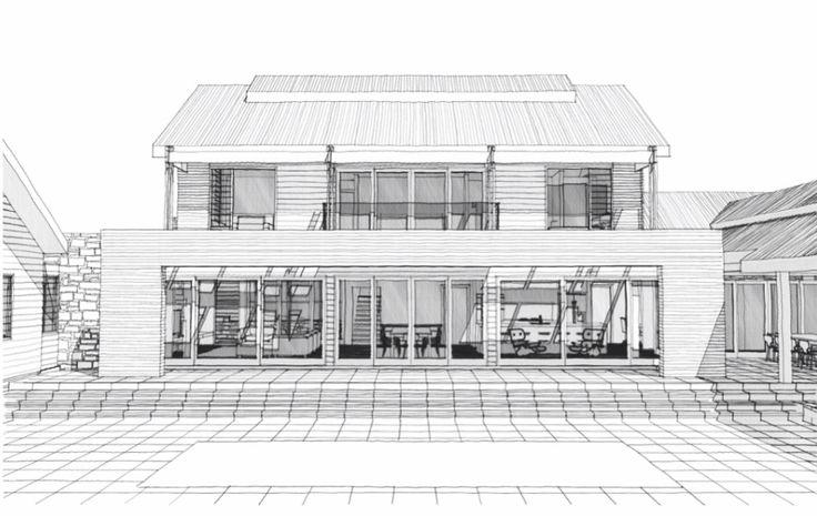 Wamberal House   sketch design