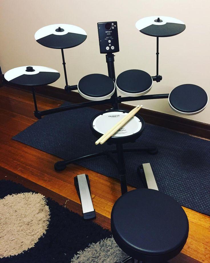 Booya!!  #roland #electricdrums #drums #40isthenew20 #hobby #music #justlearning #rock #wanderlust #travel #kiwi #nz #aotearoagirl #lovetotravel #wheretonext #culture #history #curiosity #oneplanet #ourworld #travelling #kiwigirl #explore #exploring #soexcited #adventures