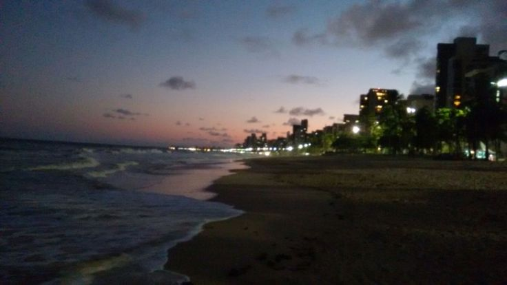 Praia de Boa Viagem em Recife, PE