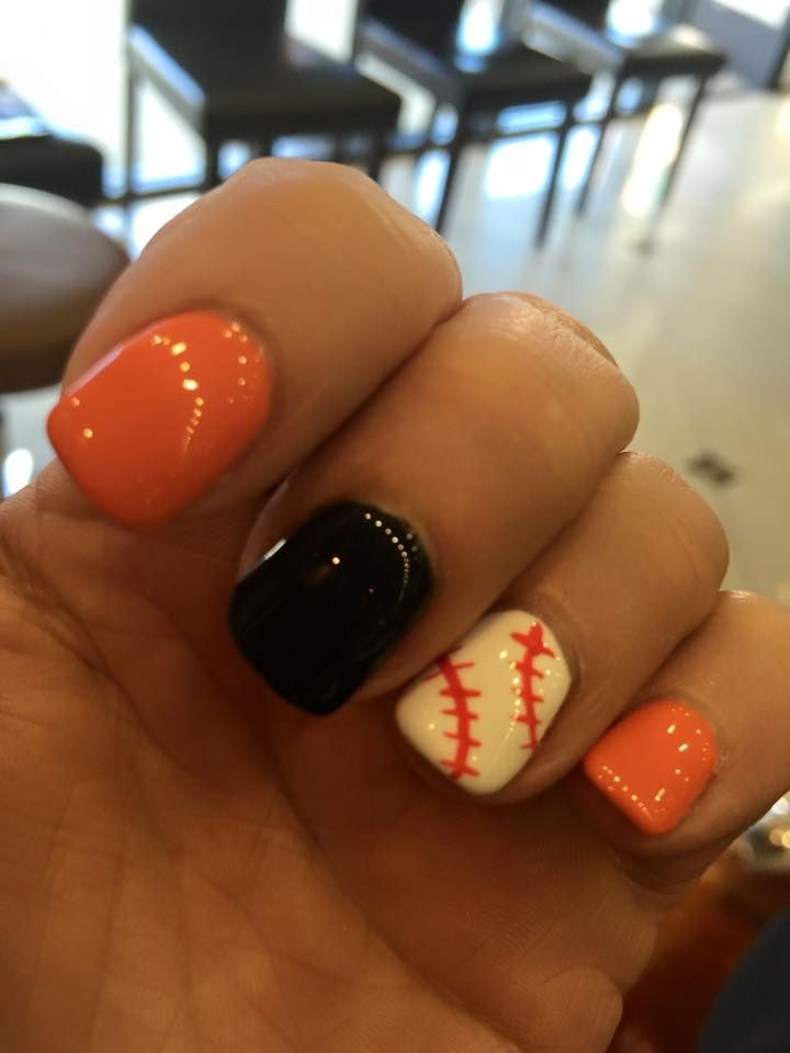 SF Giants nails!!  Love me some baseball!!!!!!