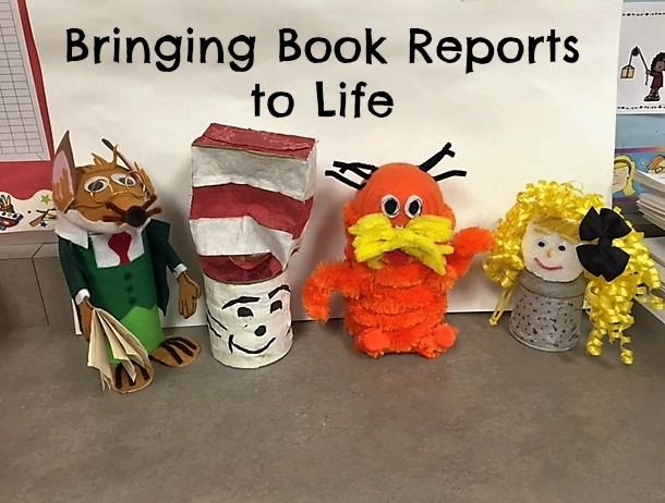 Bringing Book Reports to Life. Instead of using the same old reading response projects year after year, why not try a new, creative and crafty approach to student book reports? Whether you teach the elementary grades or middle school, these hands-on projects are sure to engage your students and bring their favorite books to life!