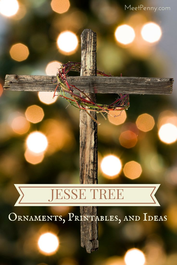 Day by day list of ideas to use with your Jesse Tree.