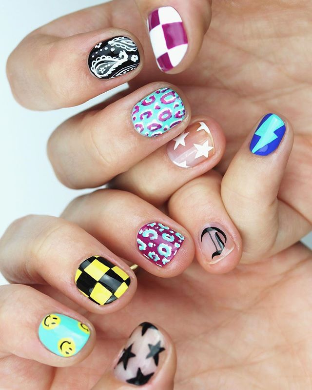 129 best Summer Nails images on Pinterest | Summer nails, Summer ...