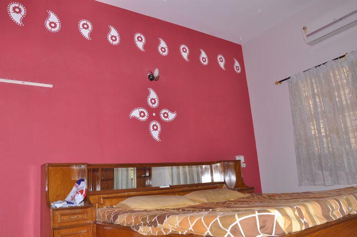 Zari Make plain wall more attractive. | Wallfashion