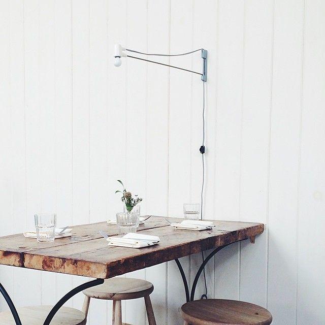 #lighting and table