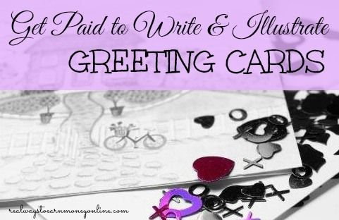 how to get a job writing greeting cards