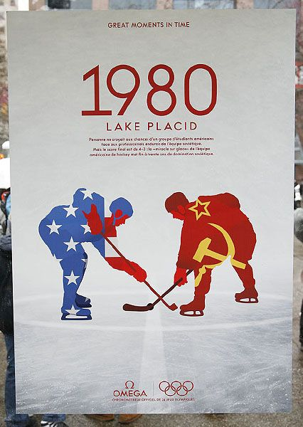 Miracle on Ice - Wow. If someone ever got this for me I would marry them. No. Like legit, I would marry them. It's just that great of a poster.
