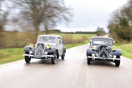 Les 80 ans de la Citroën Traction - France Info