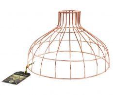 Abajur Wire Wide Copper