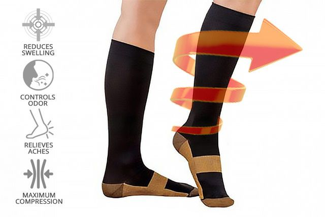 'Anti-Fatigue' Compression Socks