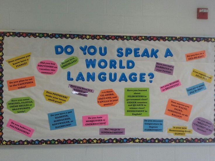 Foreign Language Classroom Decoration Ideas ~ Best spanish bulletin boards ideas on pinterest