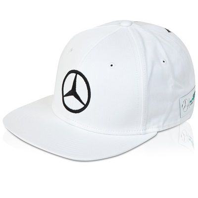 Brandon AB Mercedes AMG Petronas 2015 Lewis Hamilton Flat Mercedes AMG Petronas 2015 Lewis Hamilton Flat Brim Cap - White Lewis Hamiltons new Mercedes AMG Petronas 2015 replica flat brim cap is the ideal choice for a fan.  Styled in white with the Mercedes s http://www.MightGet.com/april-2017-2/brandon-ab-mercedes-amg-petronas-2015-lewis-hamilton-flat.asp