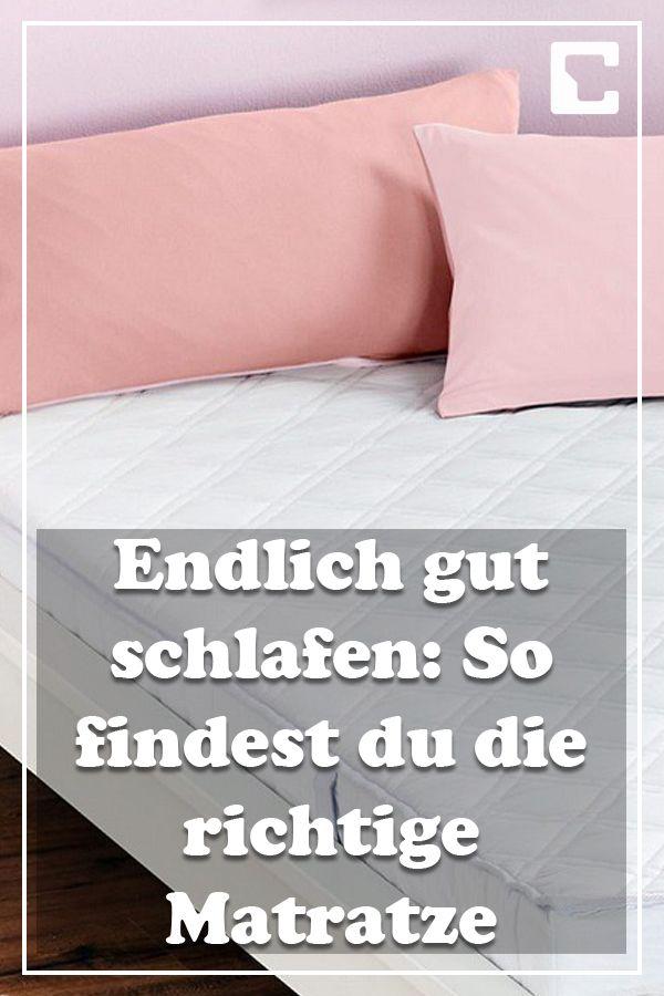 Bett Matratze Matratzekaufen Einkaufen Schlafzimmer Tipps