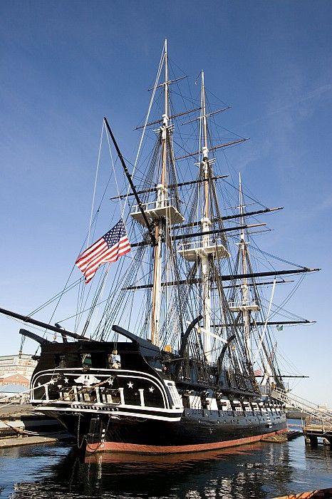 USS Constitution, Charleston Navy Yard, Boston, MA